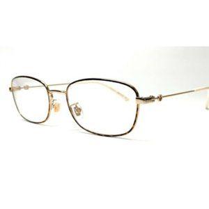 Gucci Women's Havana and Gold Eyeglasses!